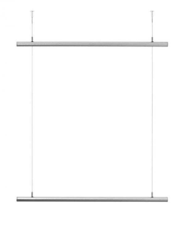 Ceiling wardrobe stainless steel